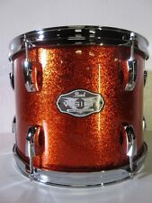 "Pearl Vision Rack Tom - 12 X 9"" - Orange Sparkle - Birch Shell"