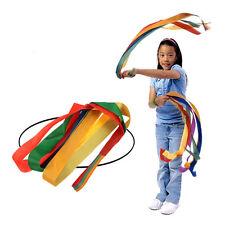 Nuevo transmisor de banda de Pulsera Arco Iris de la cinta de baile apoyos de rendimiento para Niños Juguete