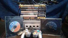 Nintendo Gamecube Bundle 10 Games Paper Mario kart golf + More
