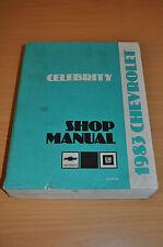 Werkstatthandbuch GM Chevrolet 1983 Celebrity Shop Manual 2,5 2,8 4,3 L L4 V6