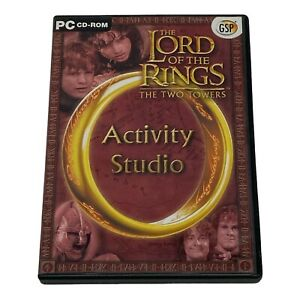 The Lord Of The Rings The Two Towers Activity Studio PC Cd-Rom