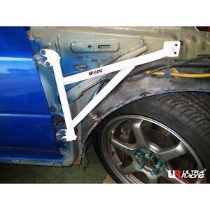 Ultra Racing For Subaru Impreza GC8 (V.4) 3 Points Fender Bar Steel Brace 1 Pair