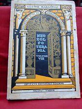 """ANTICO LIBRO DI MEDICINA  DAL TITOLO """"NEOZOLFOTERAPIA"""" VOL VIII  ANNO 1936"""