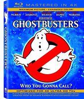 Ghostbusters (Mastered in 4K) [Blu-ray + UltraViolet] (Bilingual) - Movie
