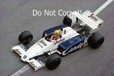 Ayrton Senna Toleman TG184 Monaco Grand Prix 1984 Photograph 2