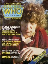 Doctor Who Magazine No.93 TOM BAKER INTERVIEW