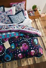 💕 perfect gift 💕 Anthropologie MEZE Queen Duvet Cover NWT actual pic 👀