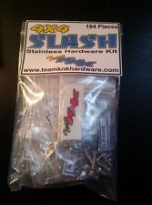 Traxxas Slash 4x4 184pc Stainless Steel Hardware Kit Team KNK 4wd screw Stampede