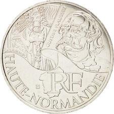 EUR, Vème République, 10 Euro Haute-Normandie, Gustave Flaubert 2012 #13478
