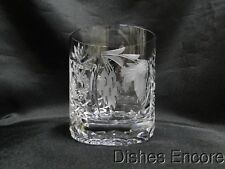 Nachtmann Traube, Gray Cut Grapes & Leaves: Clear Old Fashioned (s), 3 1/2""