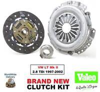 VALEO CLUTCH KIT for VW LT Mk II 2.8 TDi 1997-2002 240mm DIA 26 Teeth 3-PIECE