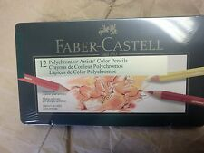FABER-CASTELL 12 POLYCHROMOS ARTISTS COLOR PENCILS 306512