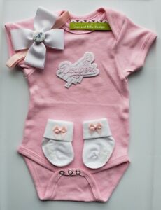Dodgers pink baby/newborn clothes Dodgers baby shower girl Dodgers newborn girl