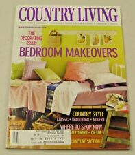 Country Living Magazine May 2001 Bedroom Makeovers, Craft Shows
