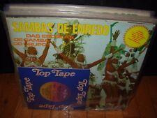 """VARIOUS sambas de enredo das escolas carnaval 1979 + 7"""" ( world music ) brazil"""