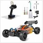 Nitro Gas RC Car 1:10 Scale 4wd Two Speed Off Road Power Remote Control Car Toys