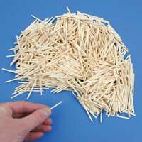 1000 PCs Natural Wooden 5 CM Craft Sticks - MatchSticks - Home Work - Free Post