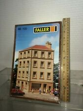 HO HO 1/87 Faller kit number 1120  Hotel terminus  new old store stock kit NIB