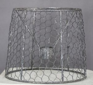 """Albert Estate LTD, 6"""" Wire Shade"""