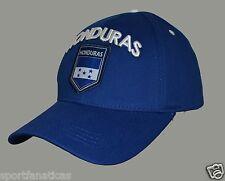 Honduras Hat Cap Adjustable Rhinox Group National Team Soccer Honduras Flag Logo