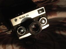 Rollei 35 Chrome German model in perfect working order.Tessar lens gorgeous 9++