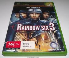 Tom Clancy's Rainbow Six 3 XBOX Original PAL *Complete*