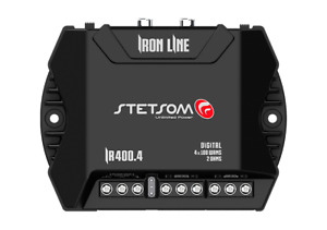 Stetsom Iron Line IR400.4 400 Watts RMS 2 Ohms 4 Channels Digital Amplifier