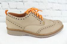 99e59fd4ca878 Tommy Bahama Elliot Mens Nubuck Leather Wingtip Oxfords Size 8.5M