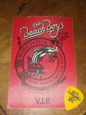 Beach Boys Tour Guitar Pick and Backstage Pass Lot!  Rare!