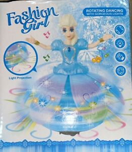 Dancing And Singing Girls Doll With Flashing Light & Music Toy