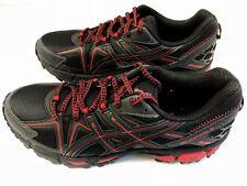 ASICS Gel-Kahana 8 Trail Running Shoes Men's US Size 8.5 Black Red Phantom New