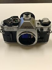 Vintage Canon AE-1 35mm Program Camera Great Condition