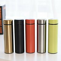 Vacuum Double Wall Stainless Steel Insulated Flasks Bottle Thermos Water 500ML