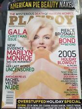 Playboy magazine December 2005 Christine Smith Marilyn Monroe NEW SEALED