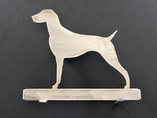 """German Shorthaired Pointer Dog Mailbox Silhouette Topper Steel Home Decor 7"""""""