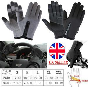 Winter Warm Gloves Touch Screen Windproof Waterproof ANTI-SLIP Driving Gloves