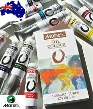 Marie's Oil Paint Tubes 50ml Artist Oil Paints 33 colours available AU Version