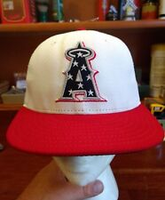 Los Angeles Angels of Anaheim New Era 59fifty Fitted Hat MLB Size 6 7/8