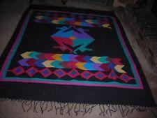 Guatemalan ,large rug,vibrant colors,great designs,UNIQUE
