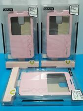 Samsung Galaxy S5 -  Slim Flip Case Cover With Window - Rose Pink