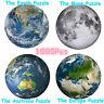 1000 Teile Schwierige runde Papier Puzzle Dekompression Spielzeug Mond Erde EU