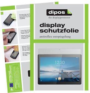 2x Pellicola per Lenovo Tab M10 HD Protettiva Protezione Antiriflesso dipos