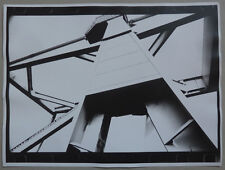 2 Photos Argentiques Composition Abstrait Abstract Vers 1990