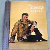 VTG CONCERT PROGRAM THE LIBERACE LEGEND BOOK 1970'S BRAND NEW ME MUSIC HISTO
