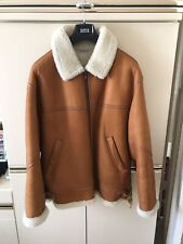 Nurseys Sheepskin Flight Jacket Vintage