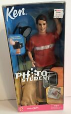 2001 PHOTO STUDENT Ken Doll NEW NRFB KB TOYS Store Exclusive