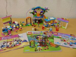 LEGO FRIENDS SETS x 3 41310 41329 & 41335 MIA'S TREEHOUSE 95% COMPLETE