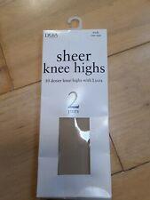 Sheer Knee Highs