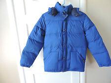 Polo Ralph Lauren Boys Elmwood Down Jacket Coat Old School Royal Blue L 14-16