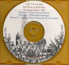 12th Virginia Cavalry, Baylor Light Horse + Bonus Book